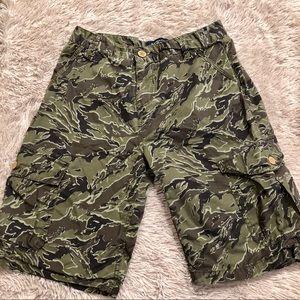 Lucky Brand Boys Camo Shorts